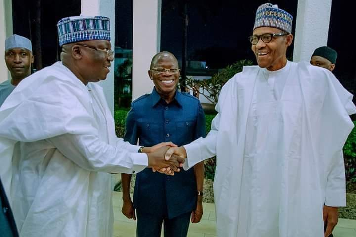 Image result for Lawan speaks on amending constitution to keep Buhari beyond 2023
