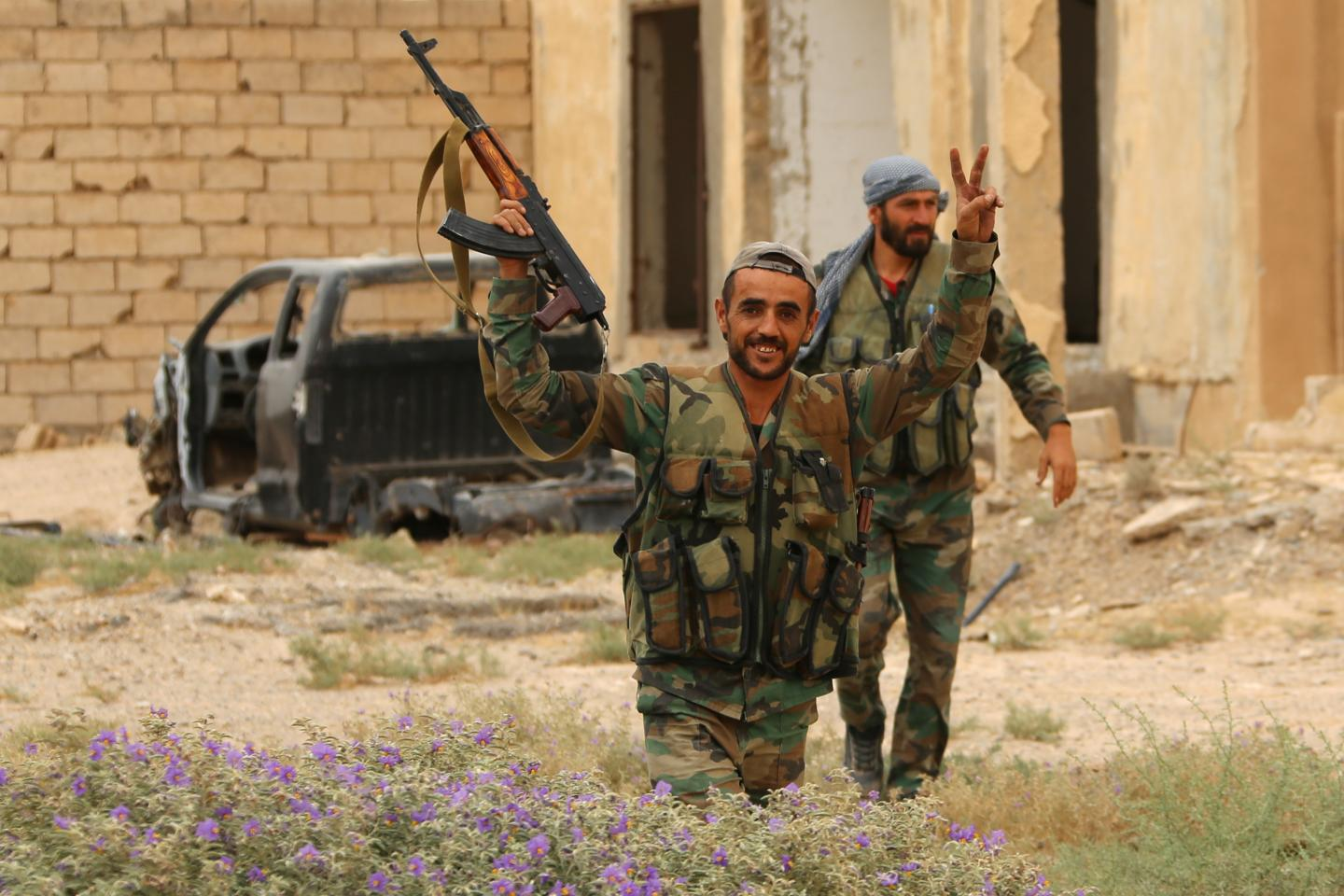 Victory declared as Islamic State loses last of its territory