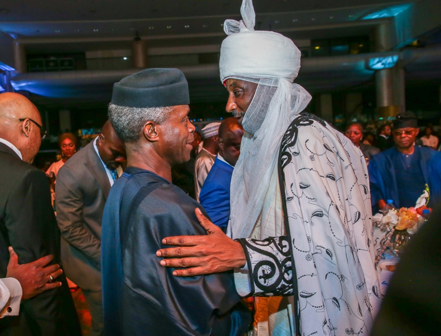 Osinbajo at 1st Bank125th Gala in Lagos 2