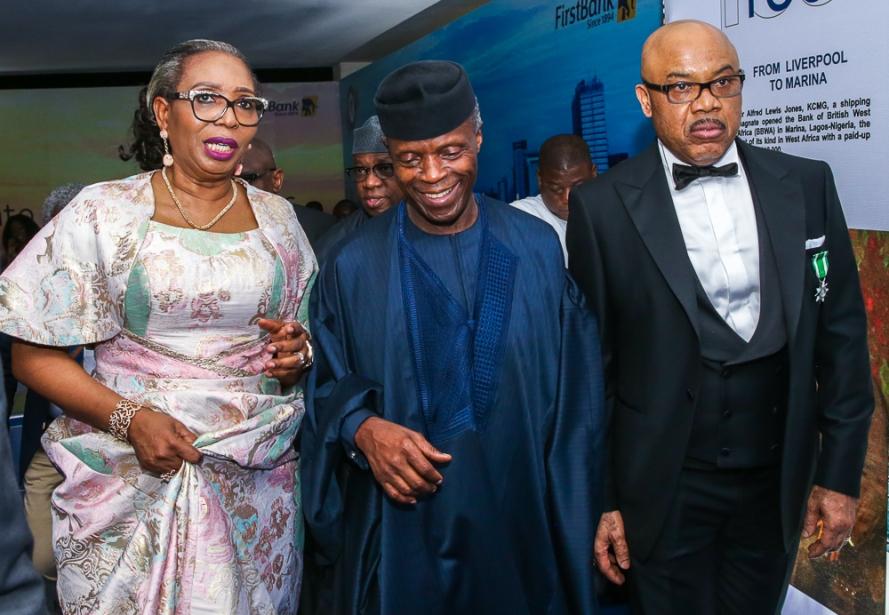 Osinbajo at 1st Bank125th Gala in Lagos 3