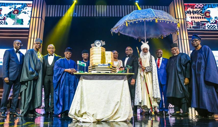 Osinbajo at 1st Bank125th Gala in Lagos 4