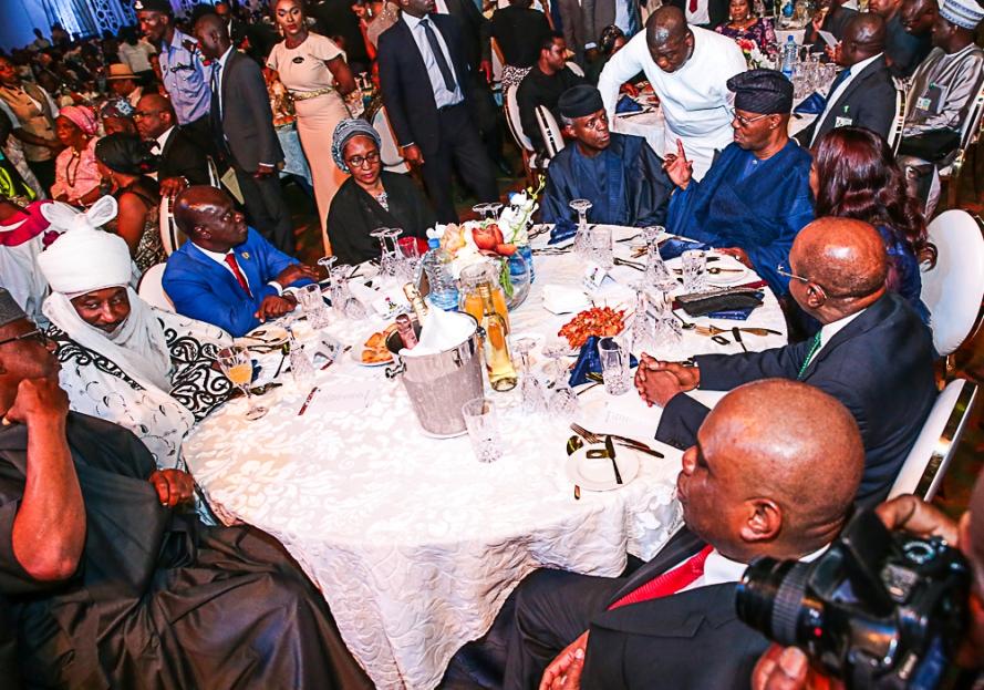 Osinbajo at 1st Bank125th Gala in Lagos 5