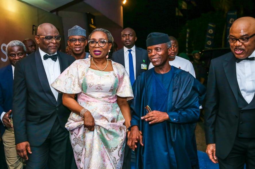 Osinbajo at 1st Bank125th Gala in Lagos