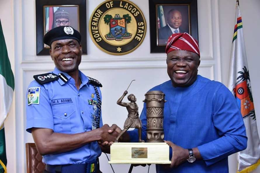 Ambode and IGP Adamu