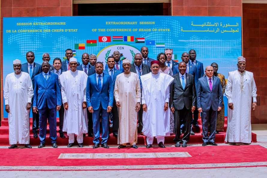 Buhari and CEN SAD 3