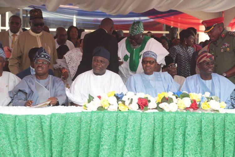 Buhari commissions Ayinke Building 2