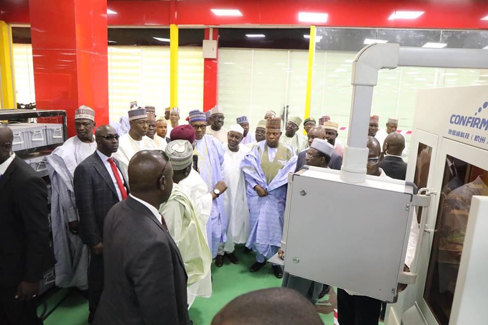 Shettima's industrial park a realistic project  –  Buhari