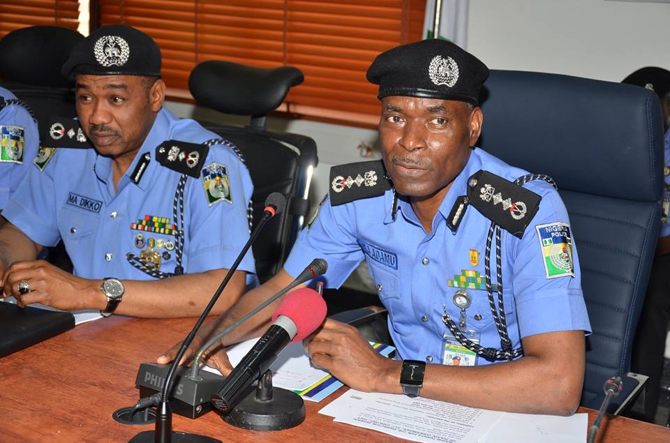 IGP Adamu orders return to 3 shift system at Conference of heads of Police Medical Facilities(Full Text)