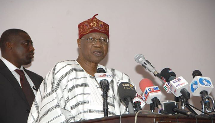 Lai Mohammed clarifies statement on the dissolution of Cabinet