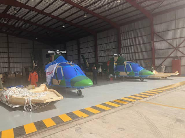 Insurgency: NAF takes delivery of 2 attack helicopters