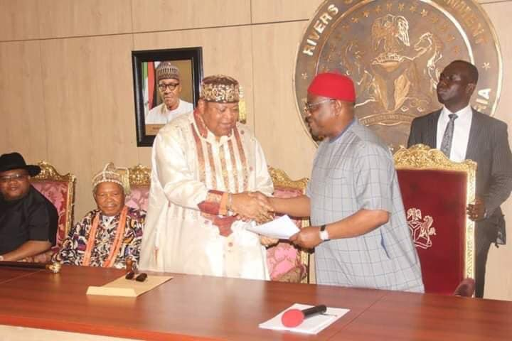 Wike and traditional rulers 1