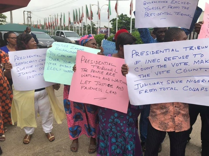 PDP Staffers demand for Atiku mandate