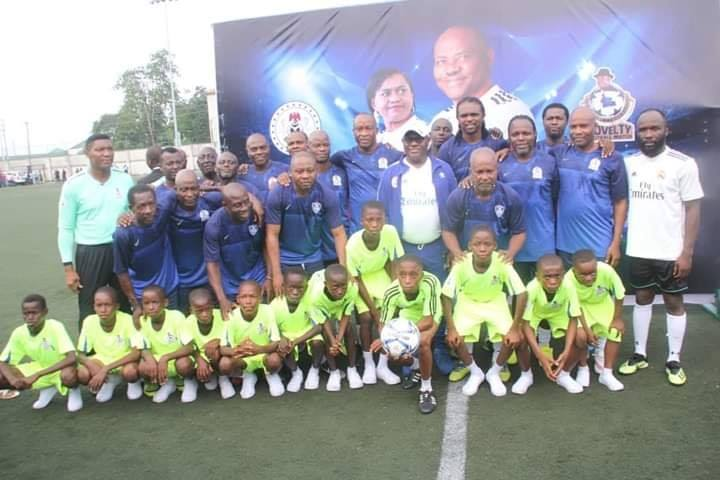 Second Term Inauguration: Ex-Internationals honour Wike