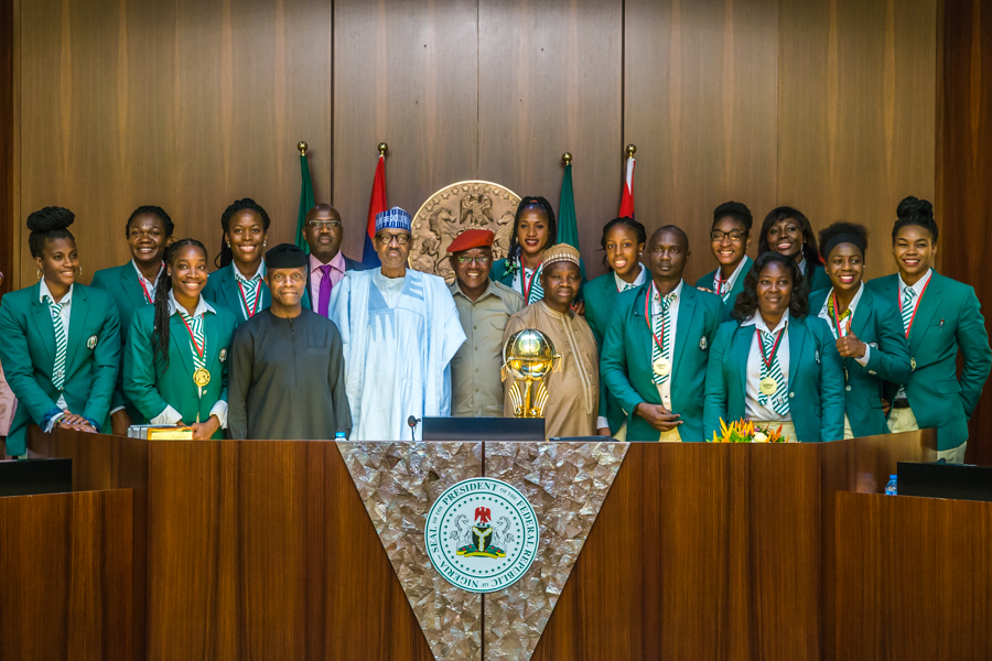 Afrobasket 2019: Buhari hails D'Tigress for victory