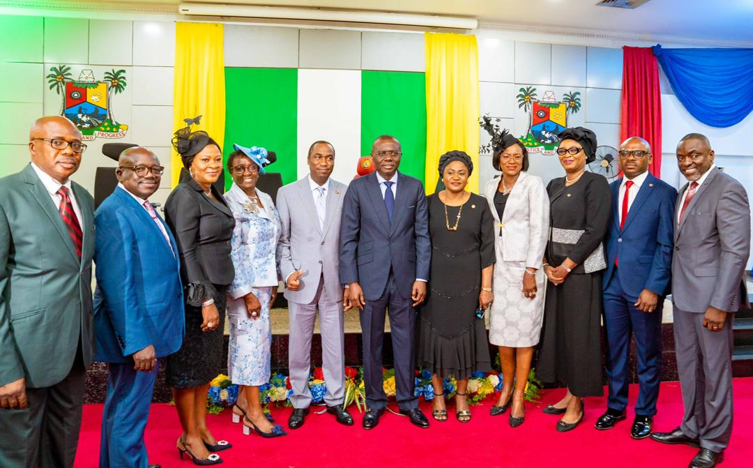 Lagos appoints nine Permanent Secretaries