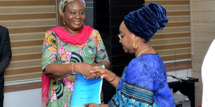 Folashade Yemi Esan takes over as acting Head of Service(Photos)