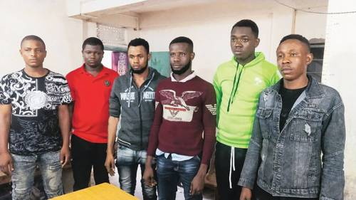 Six Nigerians Arrested For Illegally Entering India Through Night Bus
