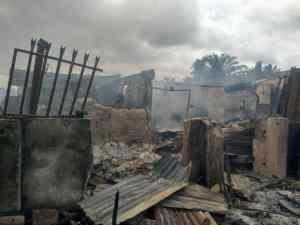 Benin Market fire: Man Slumps, Dies After Seeing Burnt Store