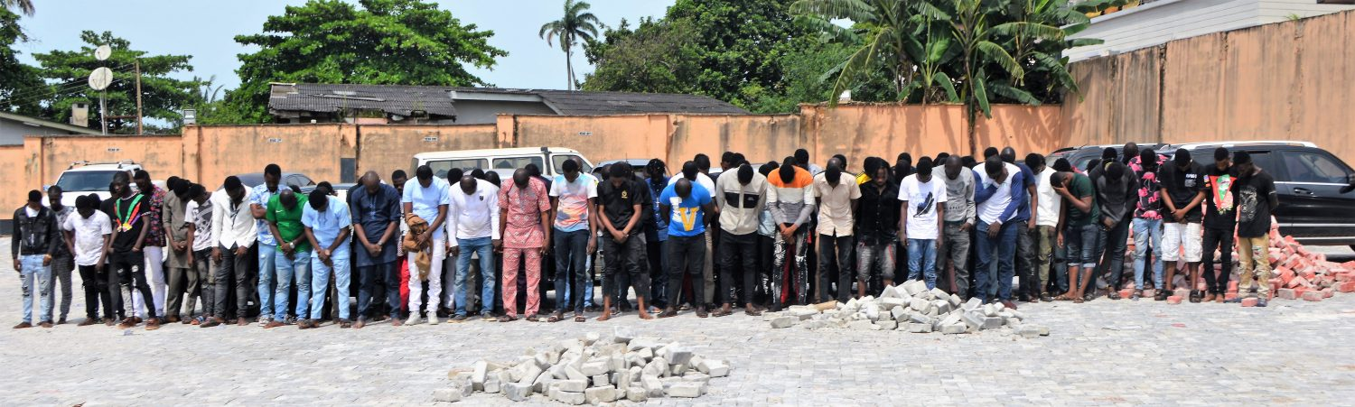 EFCC storms 'Yahoo-Boys' party, arrests 94 suspected internet fraudsters