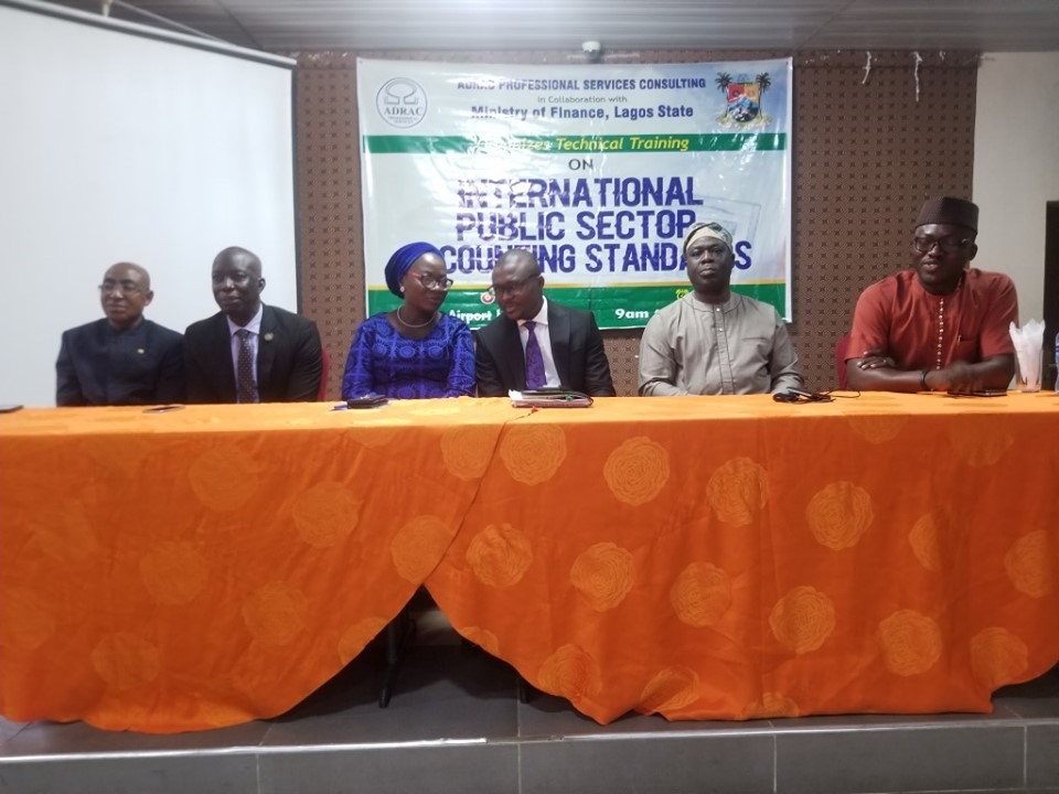 Lagos trains 800 public sector accountants on IPSAS