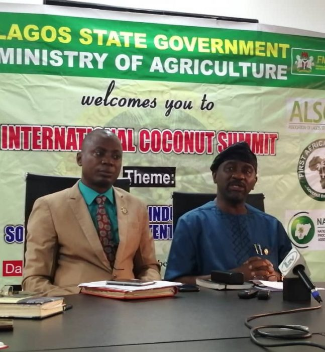 Lagos to hold 1st International Coconut Summit