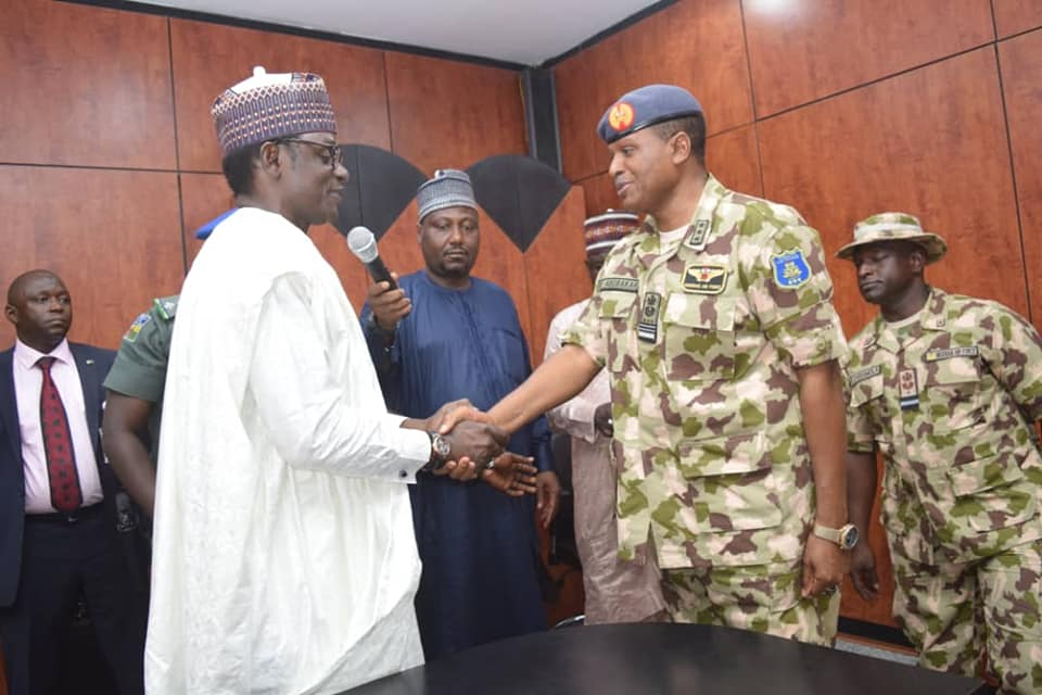 Insurgency: Yobe Gov Buni commends NAF,CAS Abubabar, pledges continued support