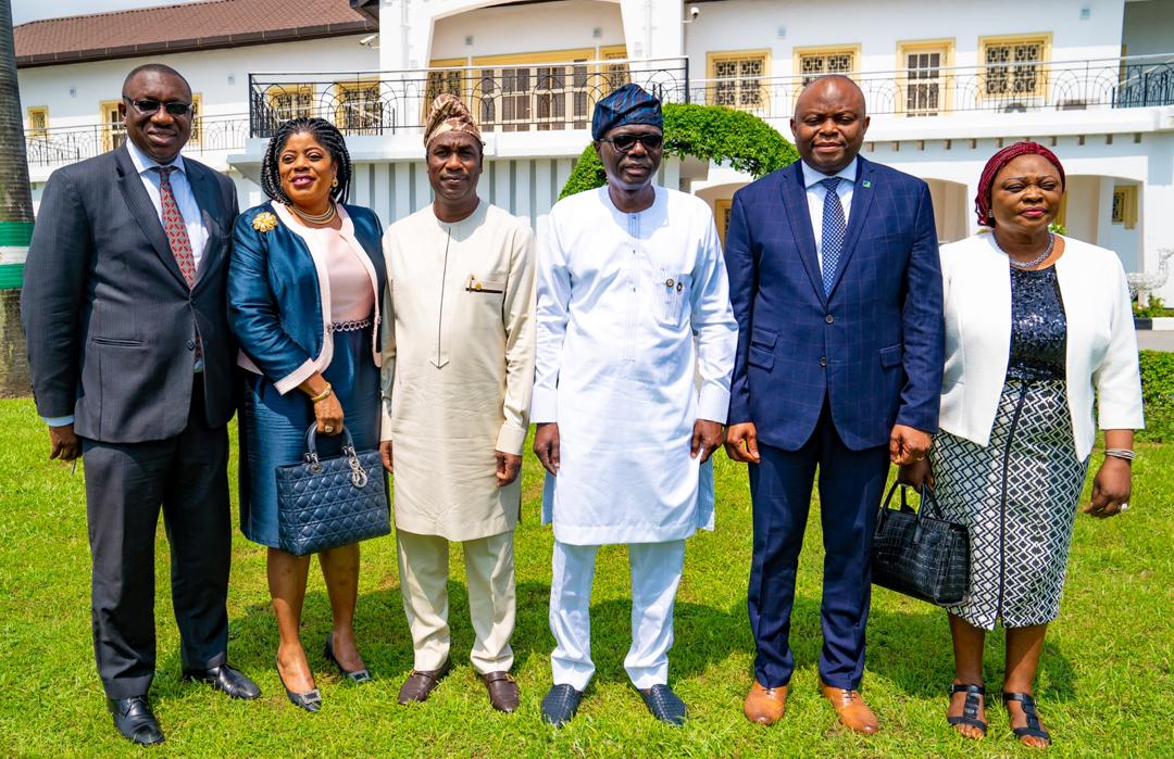Sanwo-Olu, Okonkwo parley ASPAMDA, Trade Fair market leaders on infrastructure development