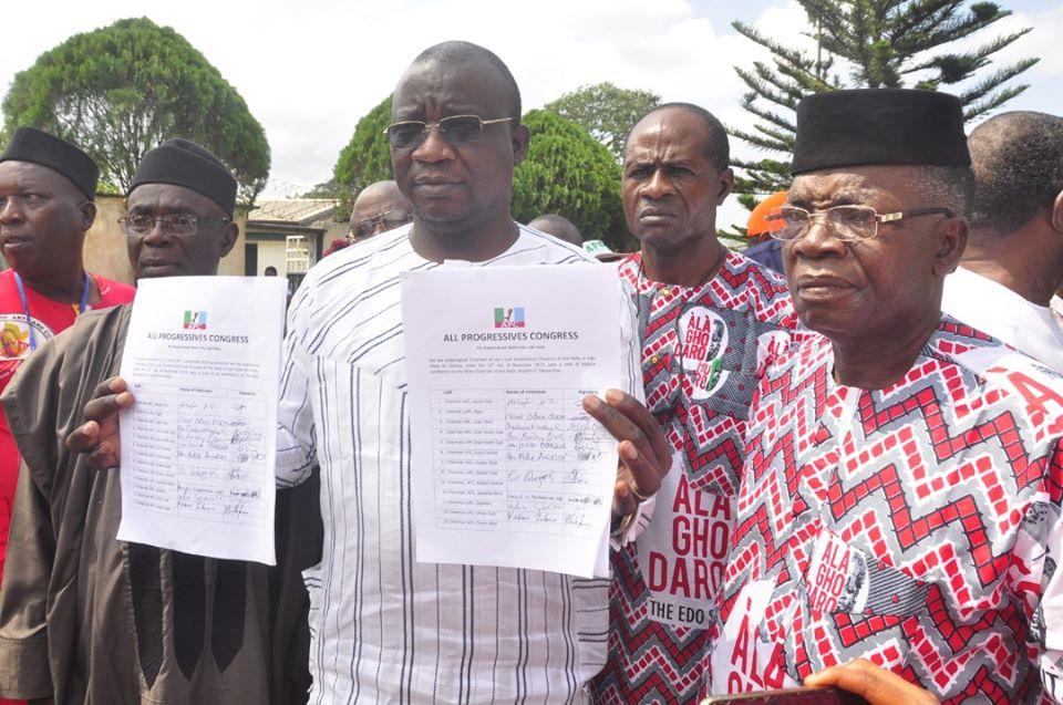 Court upholds Ojezua as Edo APC Chairman