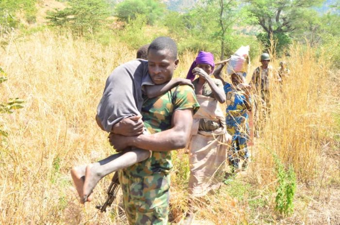 How Nigerian troops rescued women, children from Boko Haram — Army Spokesman