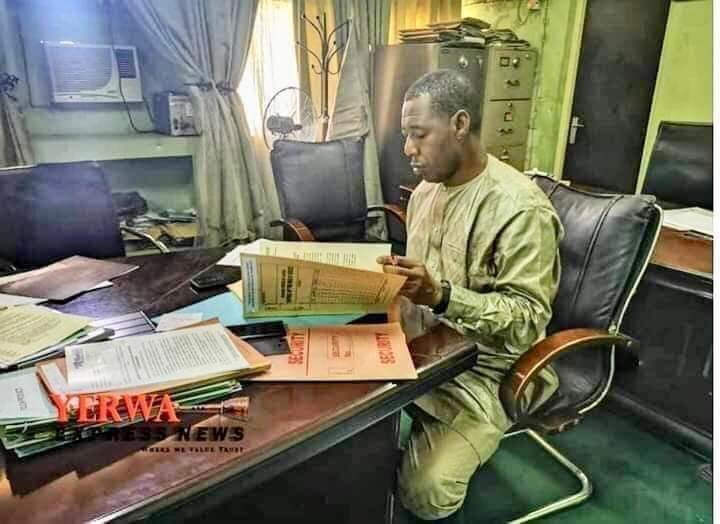 Zulum becomes the first Governor to resume work in Borno State Secretariat in 44 years