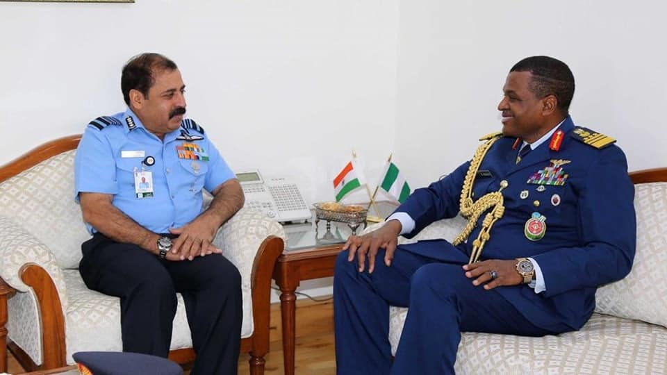 Air Chief Abubakar visits India,seeks partnership in training and R& D
