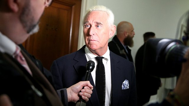 Roger Stone, former Trump campaign adviser, found guilty on all charges