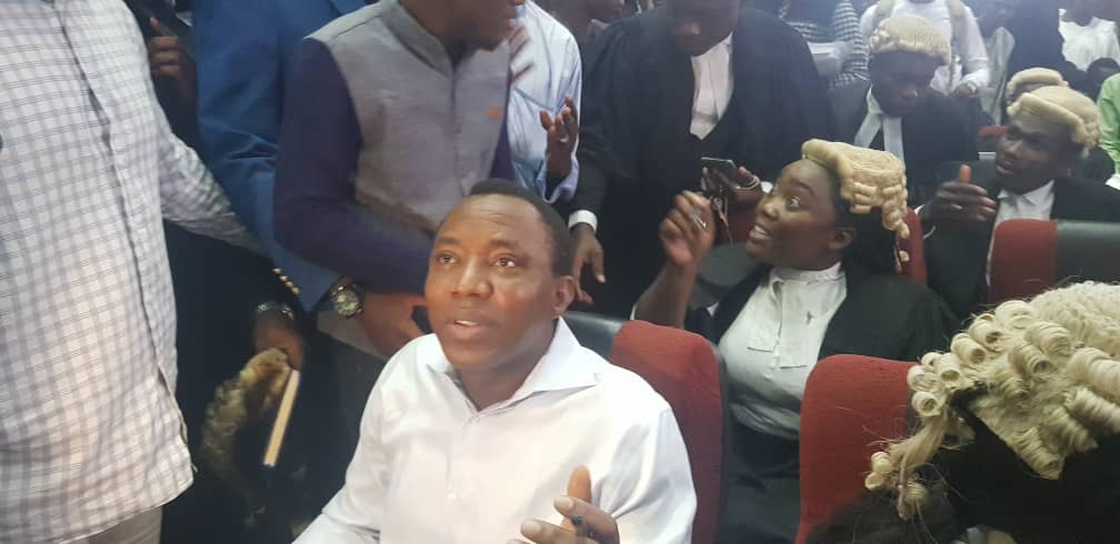 Sowore instigating violence from custody, says DSS