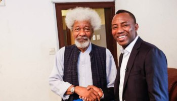 Opinion: Sowore,human rights and the rule of law – By Wole Soyinka