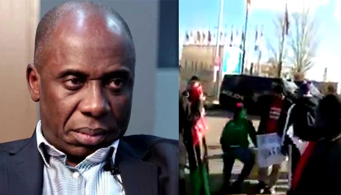 Presidency reacts to attack on Amaechi in Spain