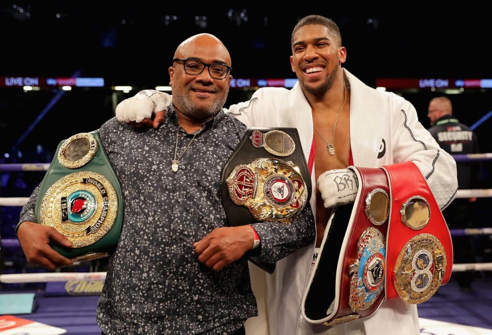 Anthony Joshua set for homecoming at Tottenham Stadium
