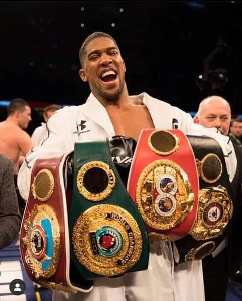 Anthony Joshua says he 'definitely' wants Deontay Wilder for the undisputed fight