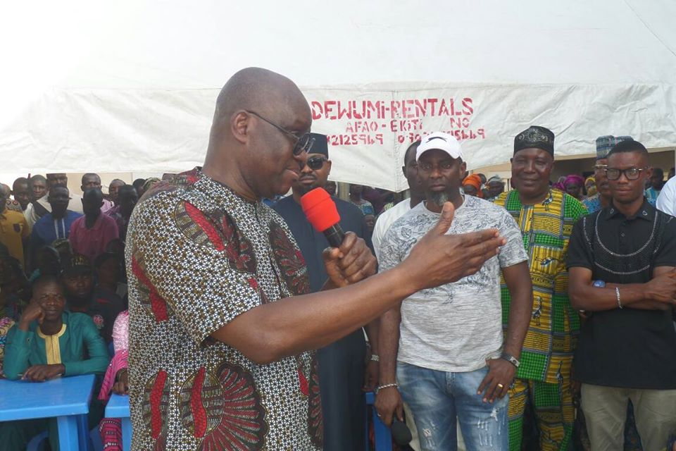 'I am sorry,' Fayose begs aggrieved PDP members