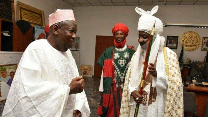 Ganduje appoints Emir Sanusi to chair Kano council of chiefs