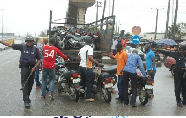 Commercial motorcyclists, hoodlums attack Lagos Task Force at Oshodi