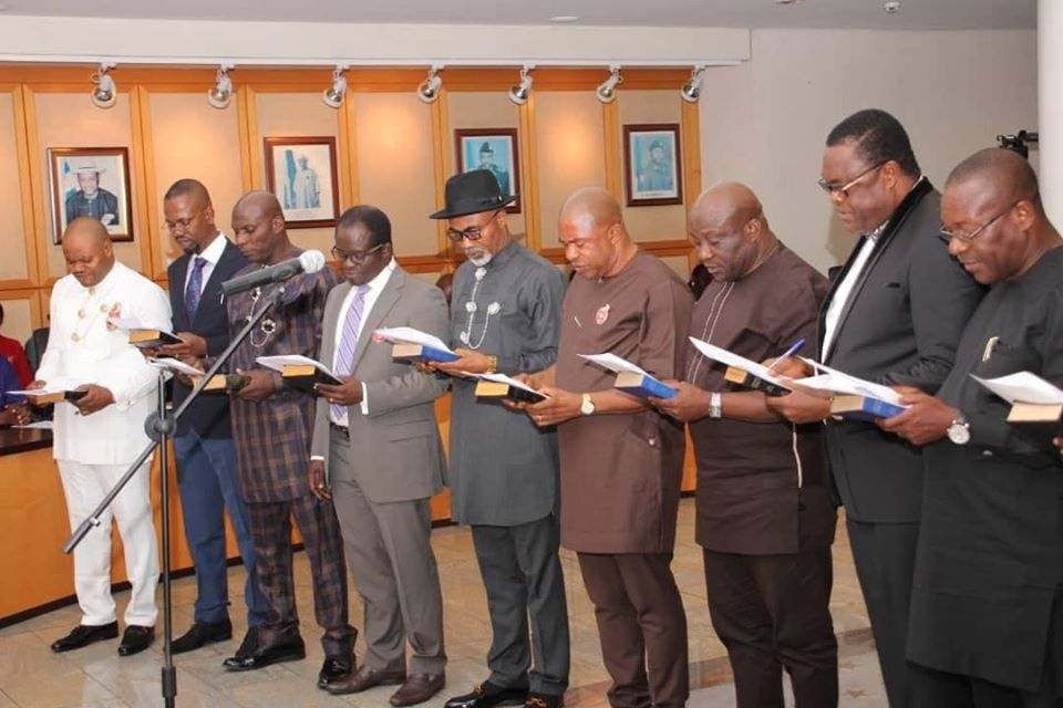 Wike swears in Commissioners, Special Advisers
