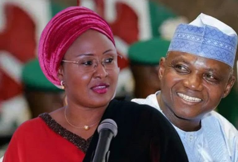 Buhari,First Lady bless Muhammad Garba Shehu's marriage