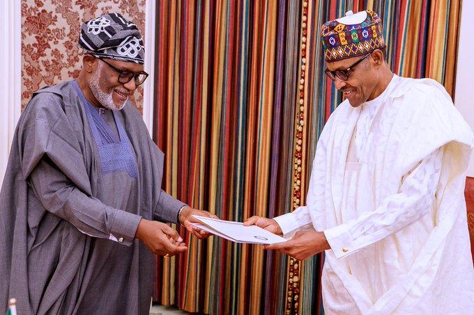 Buhari commissions industrial hub in Ondo, eulogises Akeredolu