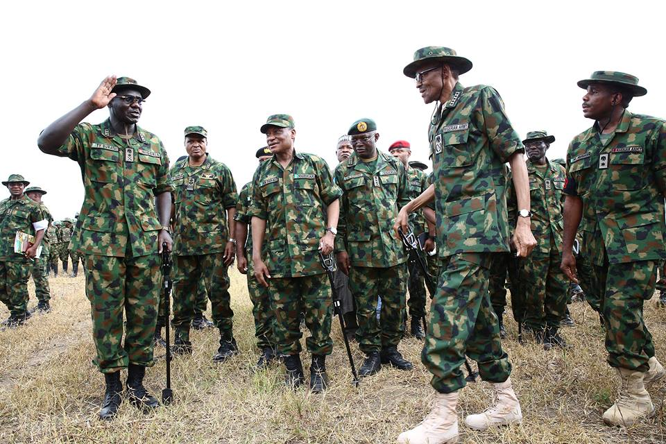 Buhari tasks military on strategies against ISWAP threats