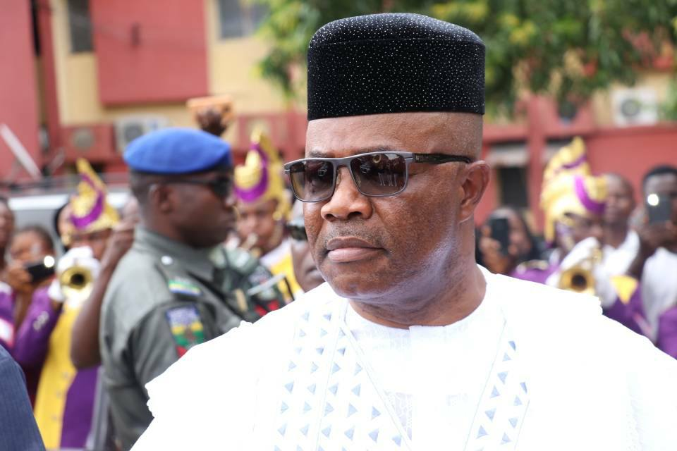 Akpabio condoles family,NDDC over Etang's death