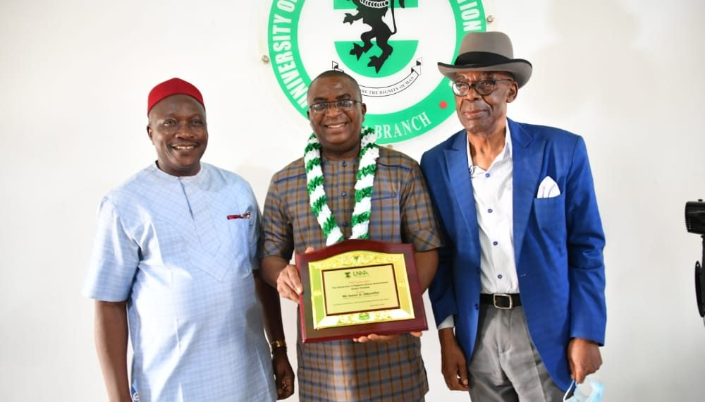 UNN alumni honours Okorafor, CBN Spokesman, as he retires Oct 1