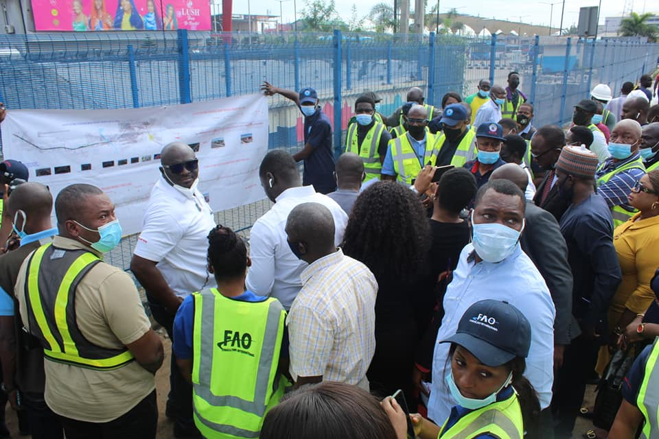 CBN team inspects Lagos Red/Blue line rail projects