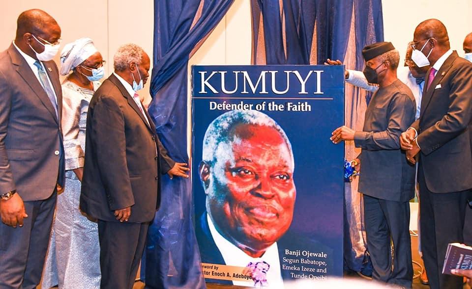 Osinbajo, Sanwo-Olu unveil Kumuyi's official biography